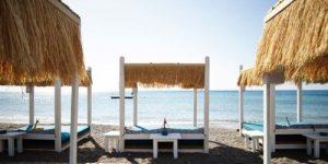 ammades beach bar luxury rhodes
