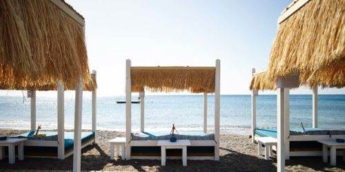 ammades beach bar luxury rhodes