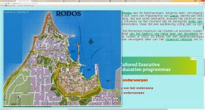 RHODES MAP CITY