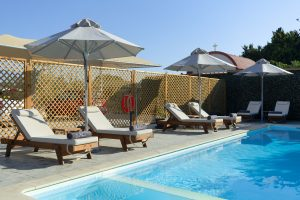 boutique apartments pool