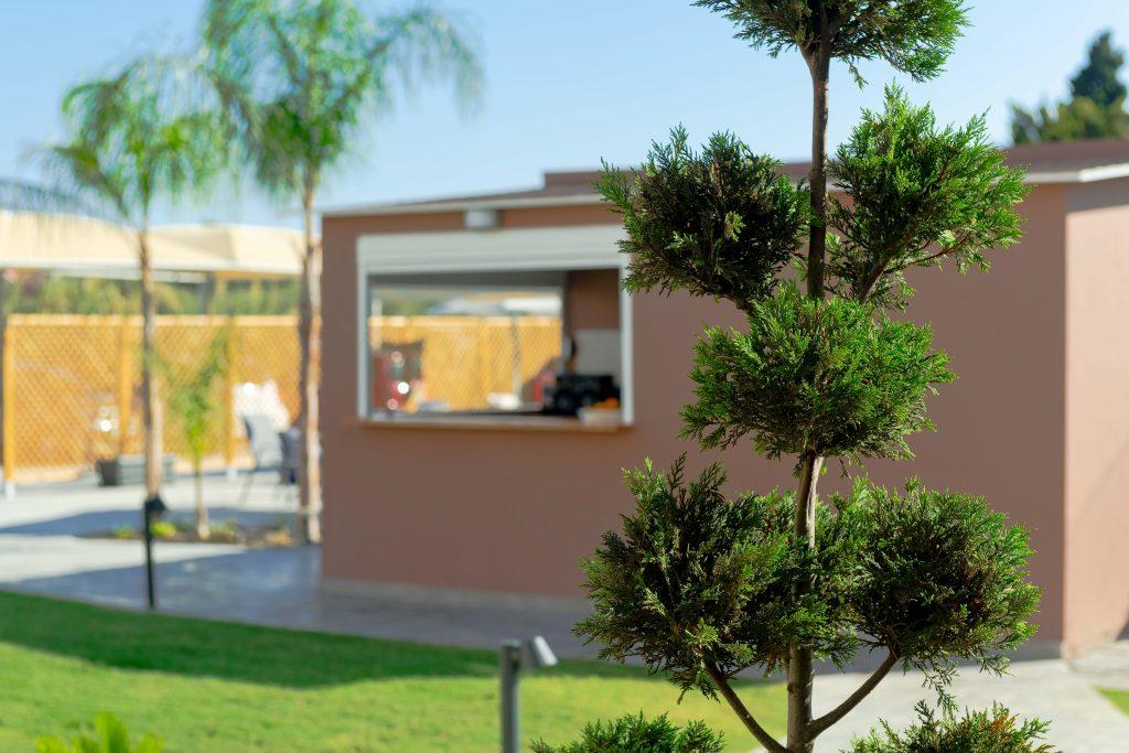 Garden view Rhodes