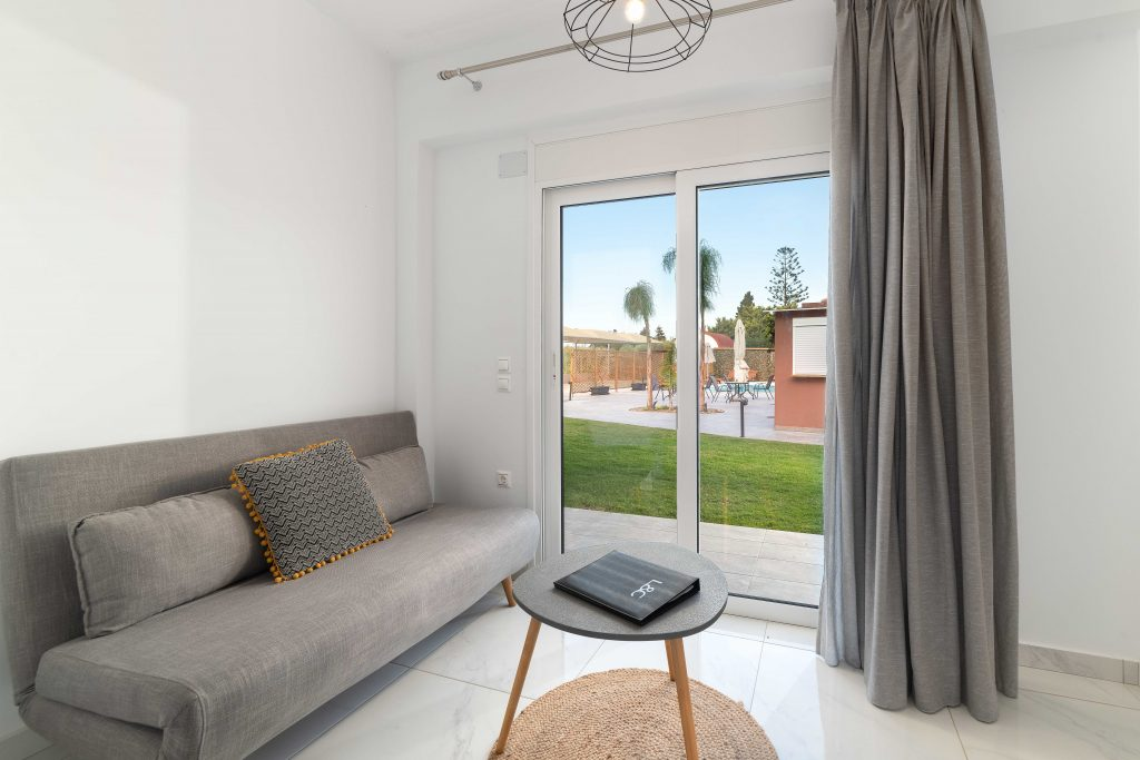 Rhodes luxury boutique apartments for rent
